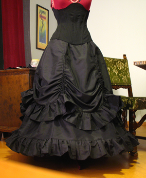 Victorian Bustle Skirt Pattern 95