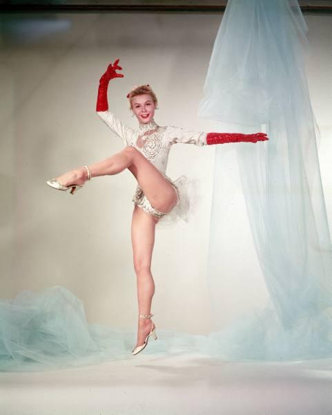 Vera Ellen White Christmas costume
