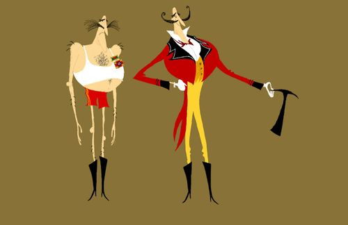 Mr.B Coraline costume