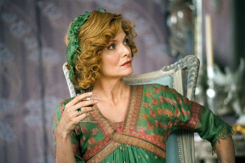 Michelle pfeiffer green dress cheri
