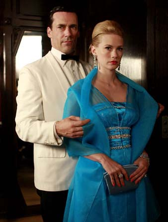 Mad Men Blue dress