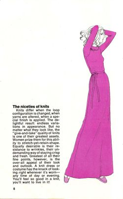 How to sew a knit 70s niceties