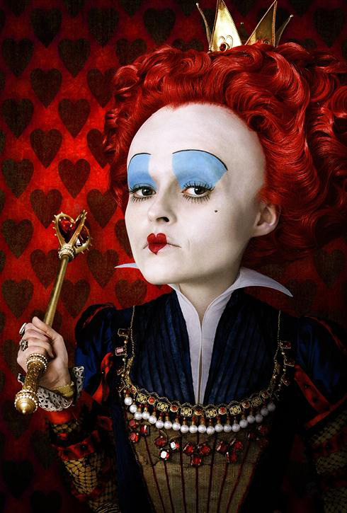 Tim Burton Queen of Hearts