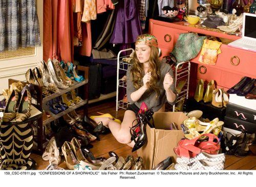 Confessions Shopaholic closet