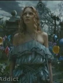 Tim Burton Alice costume