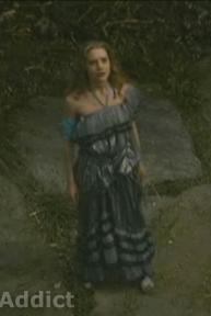 Mia Tim Burton Alice dress