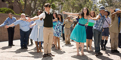 500 Days dance sequence
