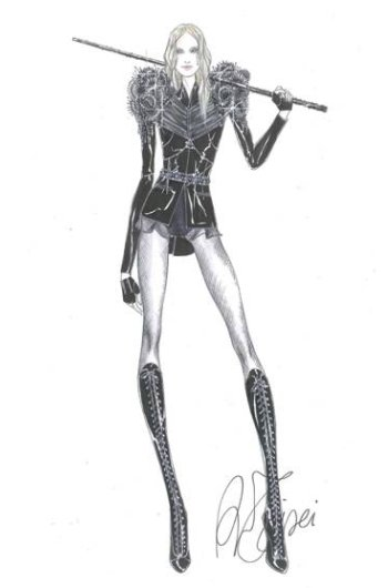 Madonna costume tour givenchy