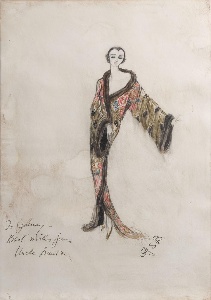 Banton design sketch