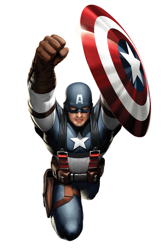 Captain america costume 2