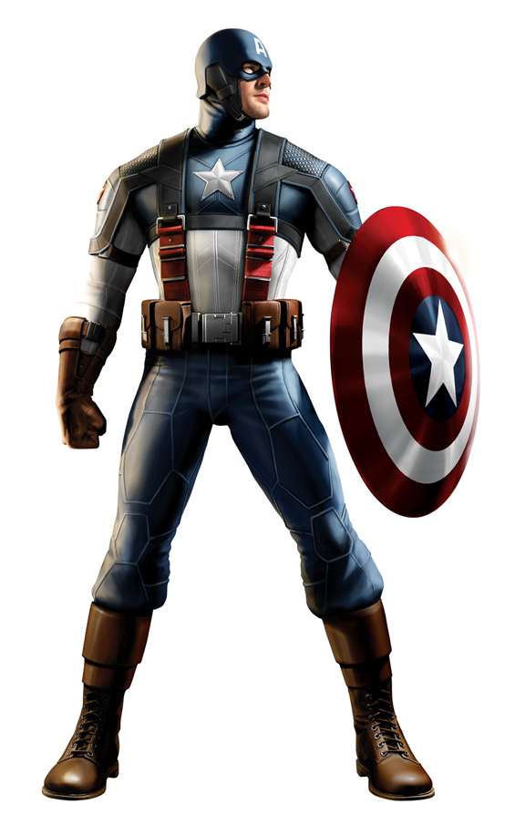 Captain america costume 3